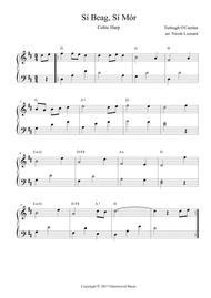 Si Beag Si Mor (Sheebeg Sheemore) for Celtic Harp