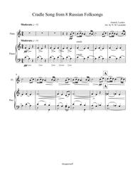 Cradle Song from 8 Russian Folksongs