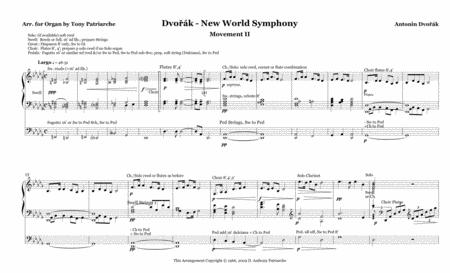 Largo from The New World Symphony for Organ