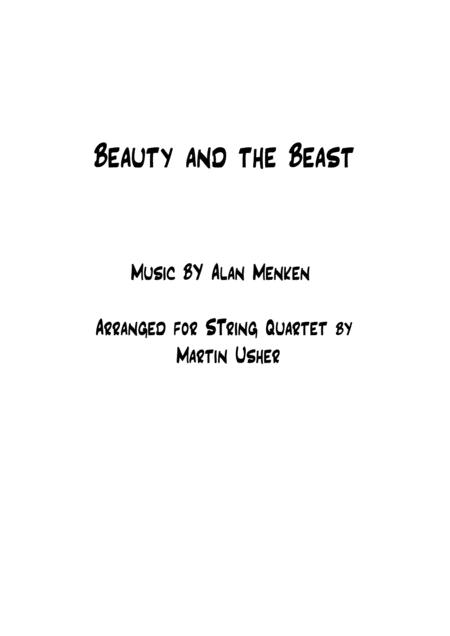 Beauty And The Beast - String Quartet