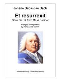 J. S. Bach - Et Resurrexit Choir from Mass in B minor arr. for Organ
