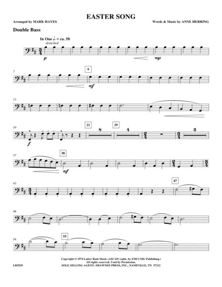 Easter Song - Double Bass