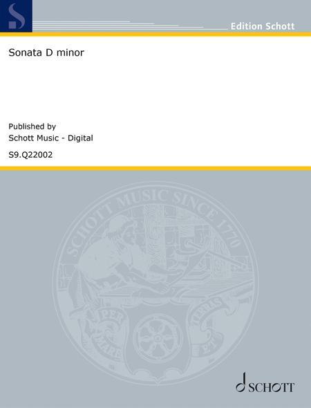 Sonata D minor