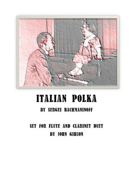 Italian Polka - set for flute and clarinet duet