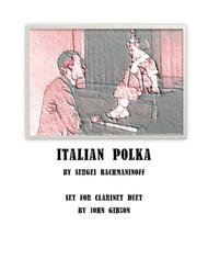 Italian Polka set for Clarinet Duet