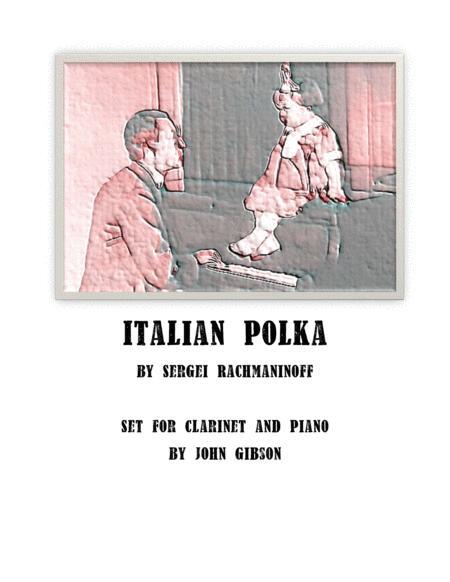 Italian Polka set for Clarinet and Piano