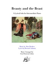 Beauty And The Beast for Intermediate Piano Solo