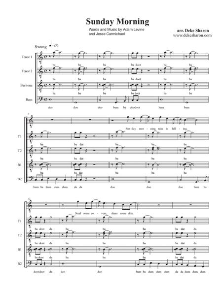 Sunday Morning Sheet Music Solidique27