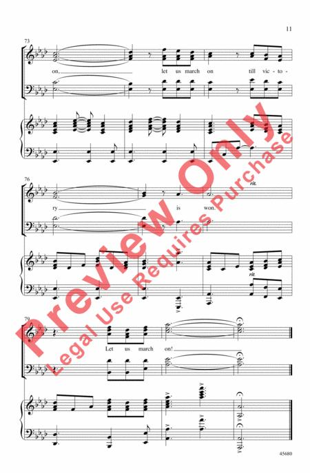 Preview Lift Every Voice And Sing By J Rosamond Johnson Ap45680
