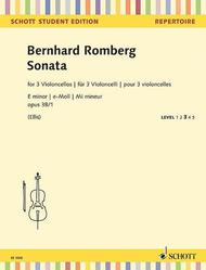 Sonata E minor op. 38/1