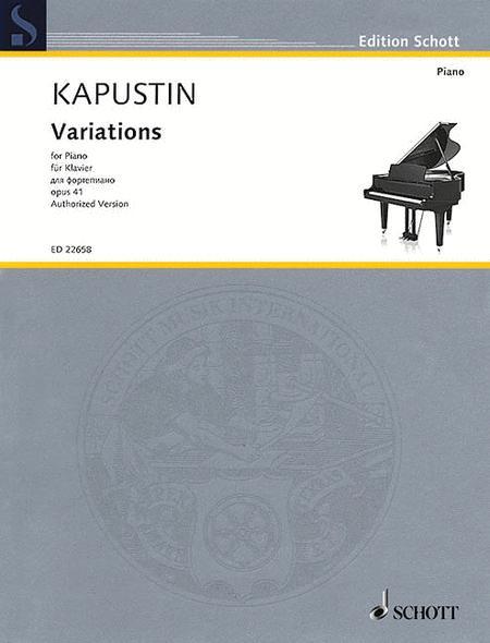 Variations op. 41