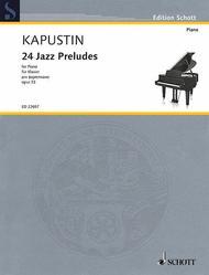 24 Jazz Preludes op. 53