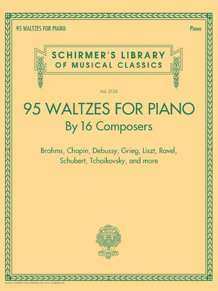 95 Waltzes by 16 Composers for Piano