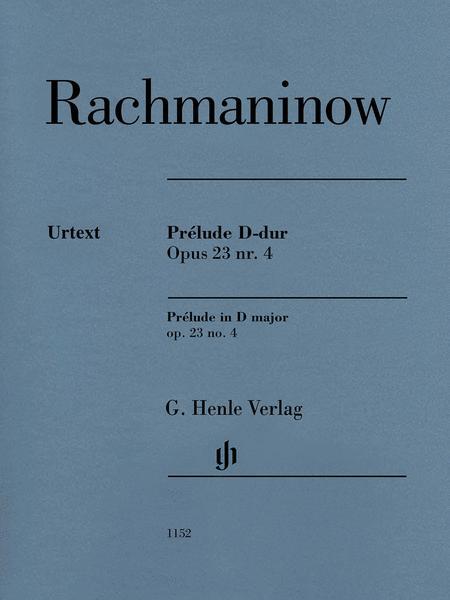 Prelude in D Major Op. 23 No. 4