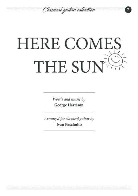 Here Comes The Sun (classical guitar)