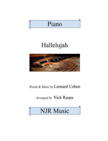 Hallelujah by Leonard Cohen (piano solo - advanced)