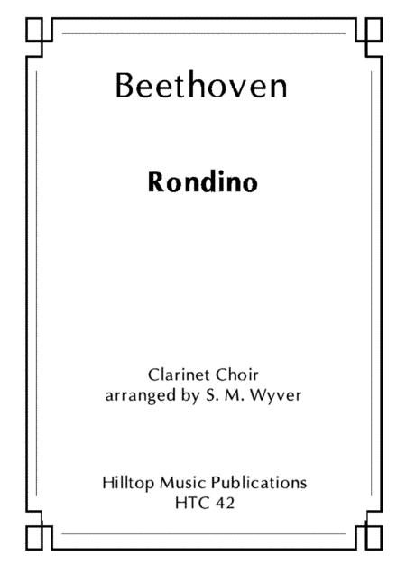 Rondino arr. clarinet choir