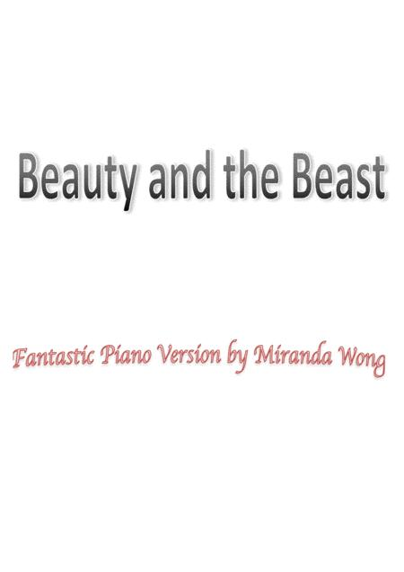 Beauty And The Beast - 2017 New Fantastic Piano Version (With Chords)