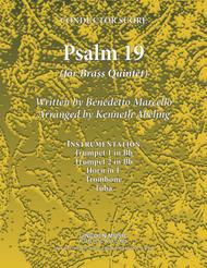 Psalm 19 - Benedetto Marcello (for Brass Quintet)