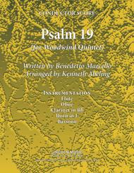 Psalm 19 - Benedetto Marcello (for Woodwind Quintet)