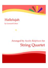 Hallelujah - string quartet