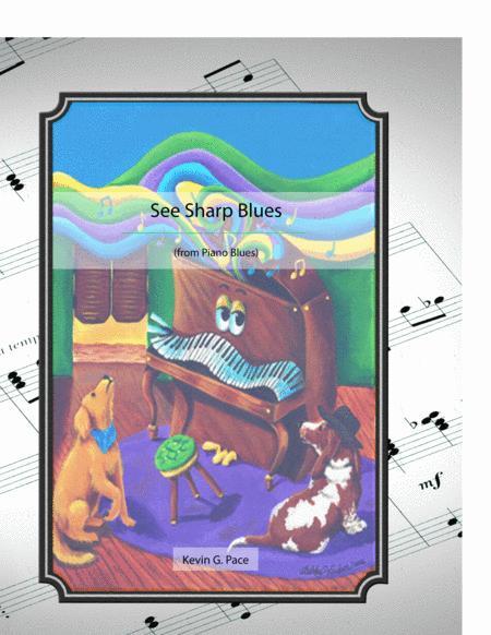 See Sharp Blues - original piano solo