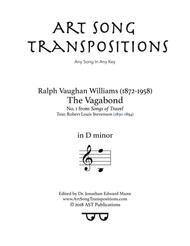 The Vagabond (D minor)