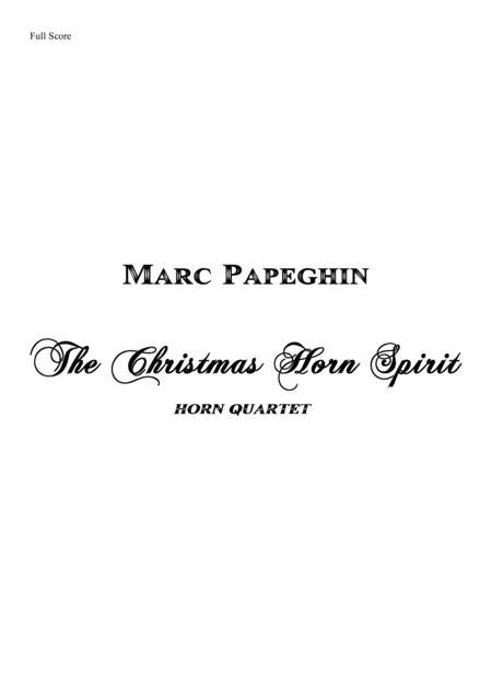 The Christmas Horn Spirit // French Horn Quartet