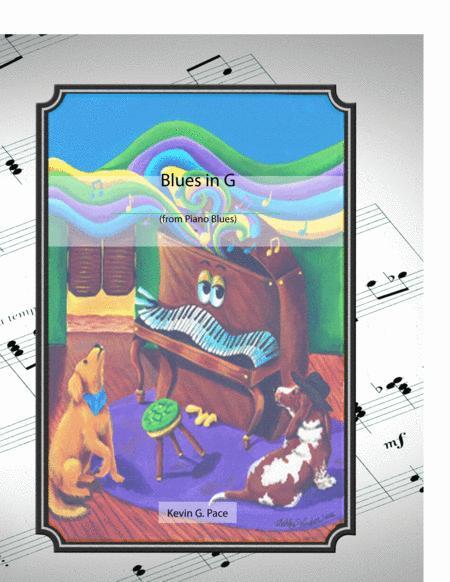 Blues in G - original piano solo