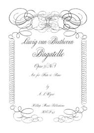 Bagatelle OP. 33 No. 1 arr. flute and piano