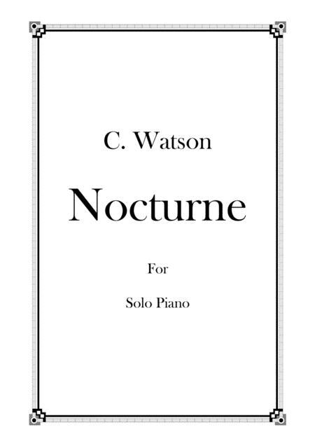Nocturne - For Solo Piano