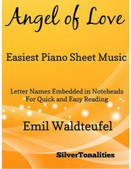Angel of Love Easiest Piano Sheet Music