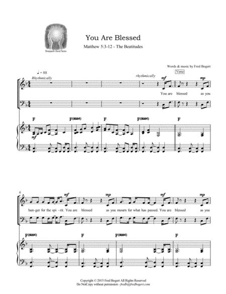 You Are Blessed (the Beatitudes)