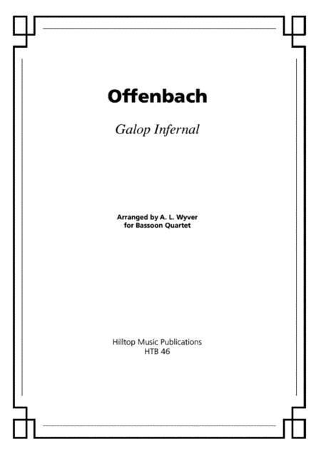 Galop Infernal arr. bassoon quartet