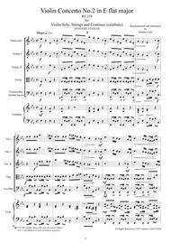 Vivaldi - Concerto No.2 in E flat RV 259 Op.6 for Violin, Strings and Continuo