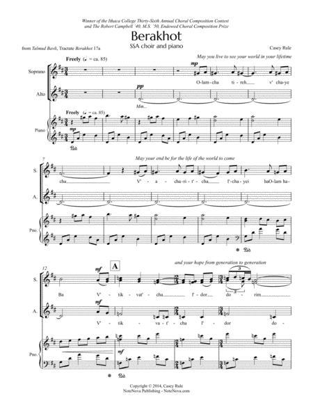 Berakhot (SSA) - Casey Rule