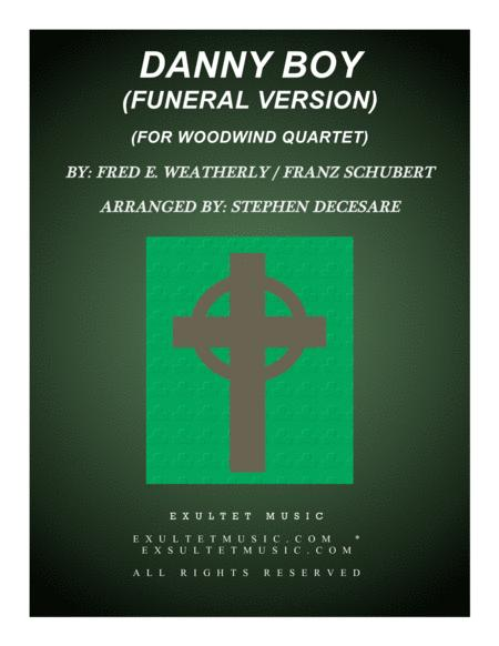 Danny Boy (Funeral Version) (for Woodwind Quartet)