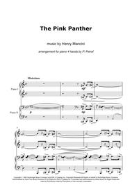 H. Mancini - Pink Panter - piano 4 hands