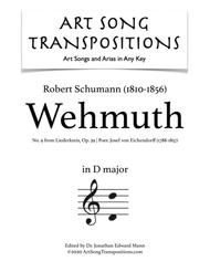 Wehmuth, Op. 39 no. 9 (D major)