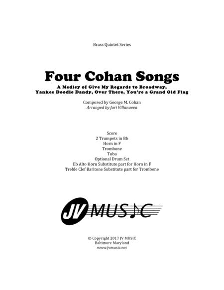 Four Cohan Songs for Brass Quintet