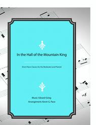 In the Hall of the Mountain King - easy piano solo