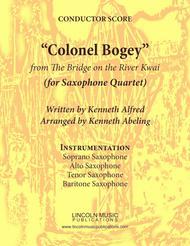 "March - ""Colonel Bogey"" (for Saxophone Quartet SATB)"
