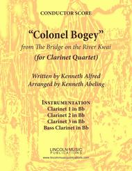 "March - ""Colonel Bogey"" (for Clarinet Quartet)"