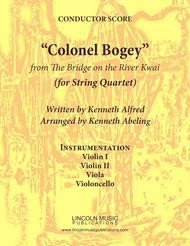 """March - """"Colonel Bogey"""" (for String Quartet)"""