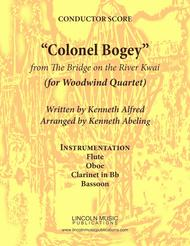 """March - """"Colonel Bogey"""" (for Woodwind Quartet)"""