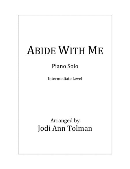 Download Abide With Me Piano Solo Sheet Music By William H Monk