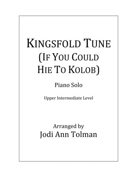 Kingsfold Tune, (If You Could Hie to Kolob), Piano Solo