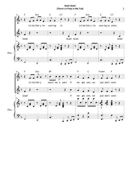Glub Glub There 039 S A Fishy In My Tub By Carol Troutman Wiggins Digital Sheet Music For Octavo Download Print S0 206291 Sheet Music Plus