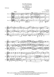 Mozart: Divertimento No.1 (Complete) from