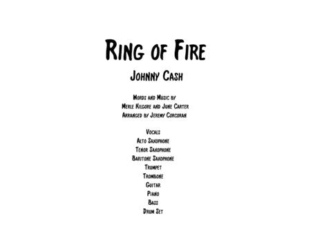 Ring Of Fire For Rock Band With Horns